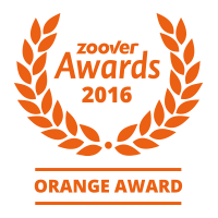 herlaeve award emblem orange - Vakantiewoning Korebloom
